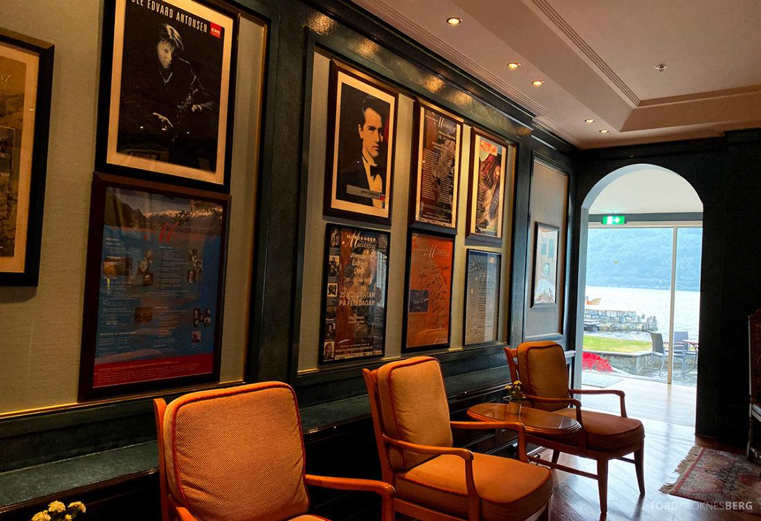 Hotel Ullensvang Hardanger Norge oppholdsrom