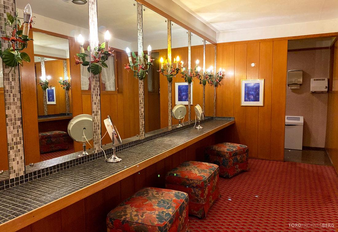 Hotel Ullensvang Hardanger Norge toalett sminkeværelse