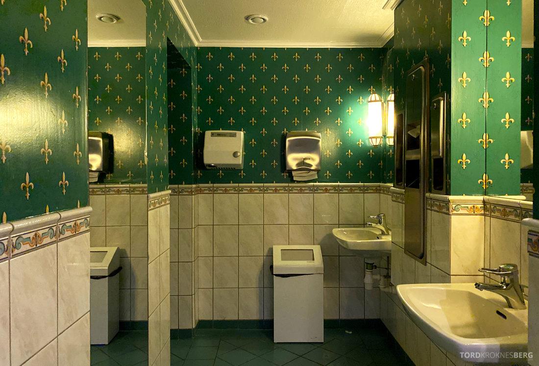 Hotel Ullensvang Hardanger Norge toalett