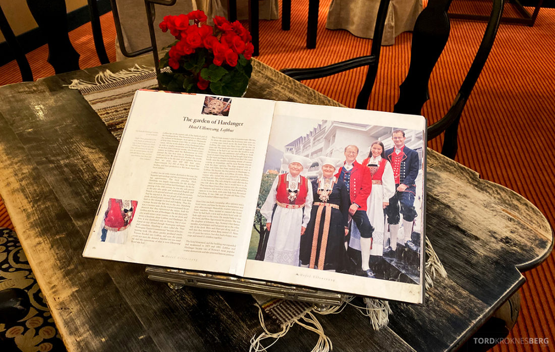 Hotel Ullensvang Hardanger Norge historie