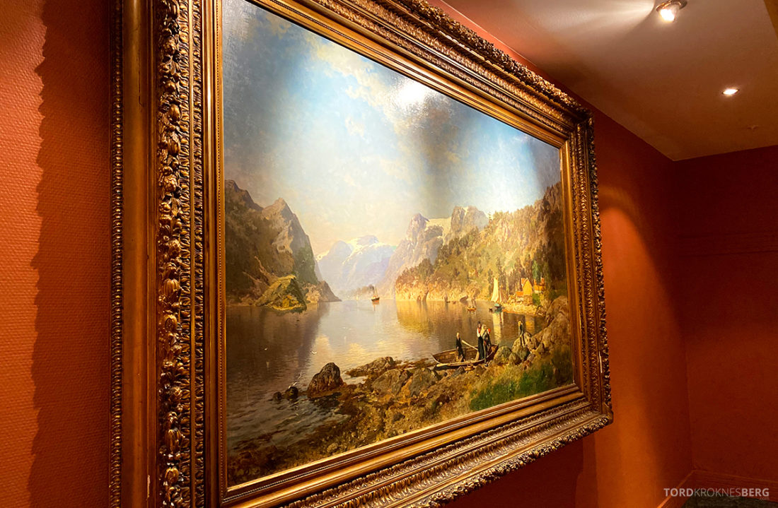 Hotel Ullensvang Hardanger Norge naturalistisk kunst