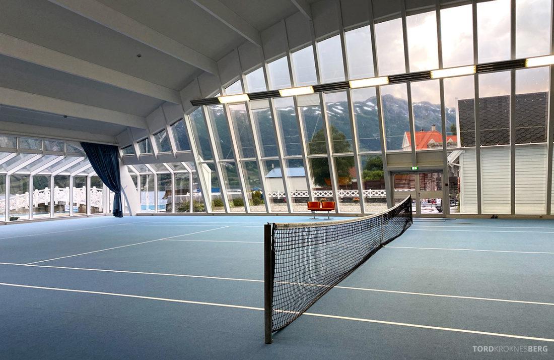 Hotel Ullensvang Hardanger Norge tennisbane