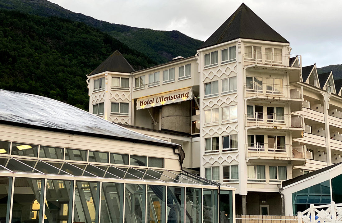 Hotel Ullensvang Hardanger Norge fasade