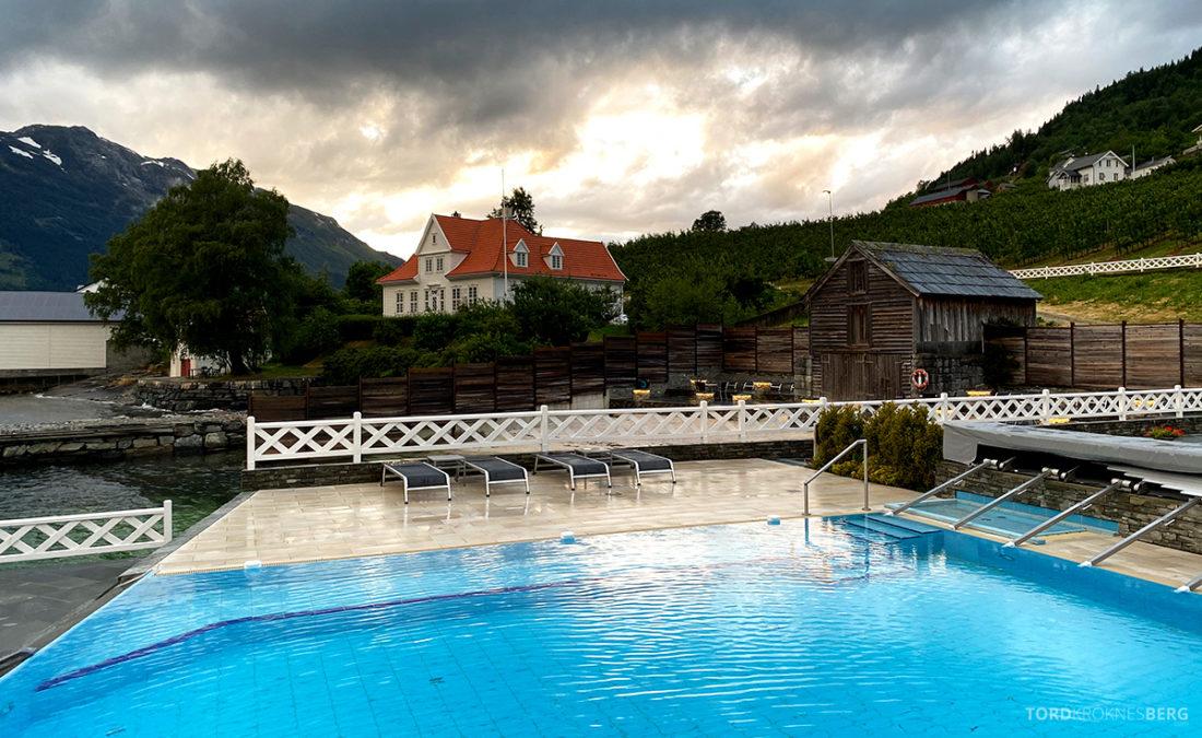 Hotel Ullensvang Hardanger Norge basseng ute