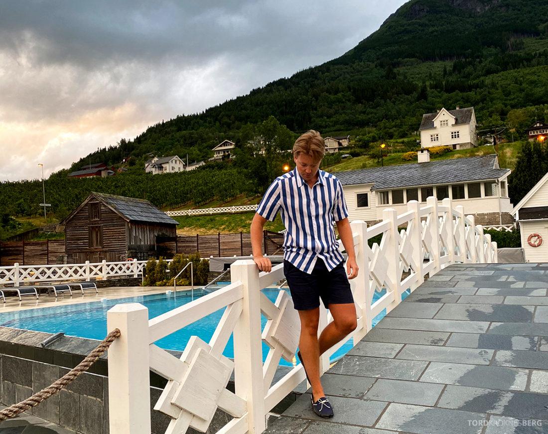 Hotel Ullensvang Hardanger Norge Tord Kroknes Berg basseng