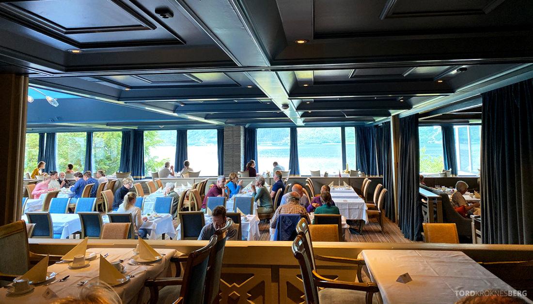 Hotel Ullensvang Hardanger Norge frokostsal