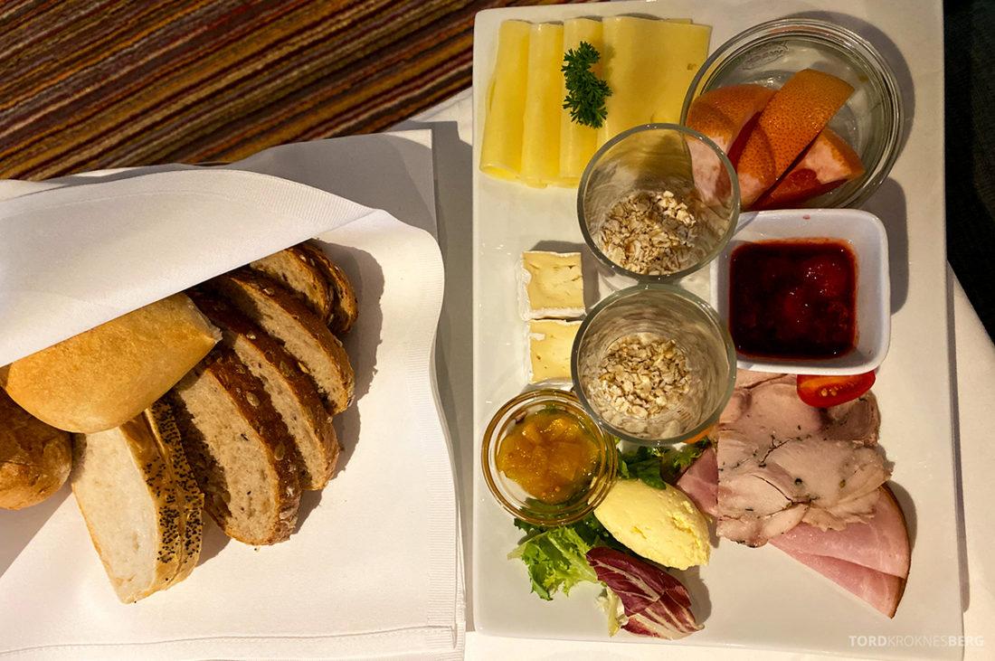 Hotel Ullensvang Hardanger Norge frokosttallerken