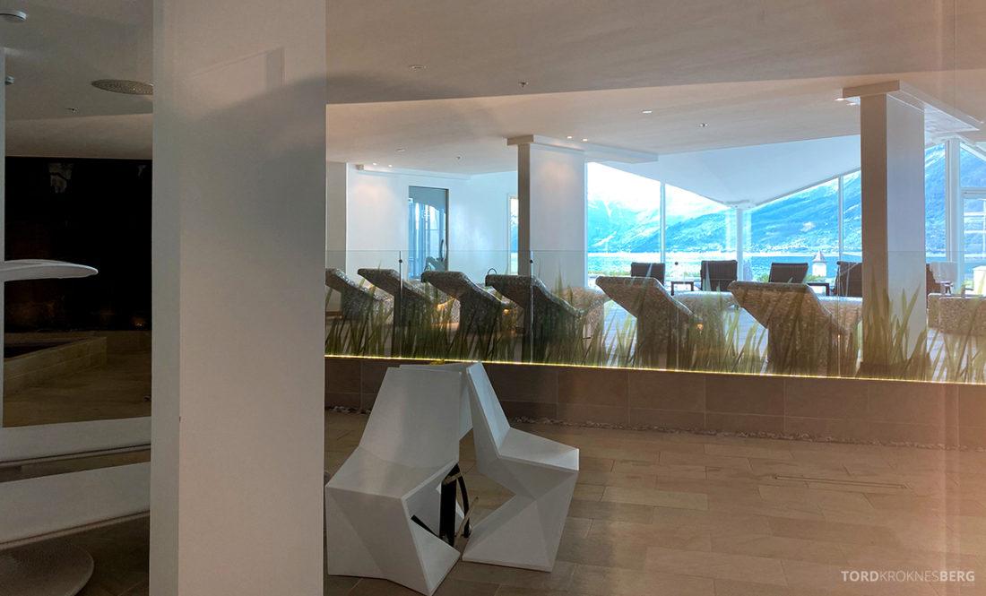 Hotel Ullensvang Hardanger Norge avslapning