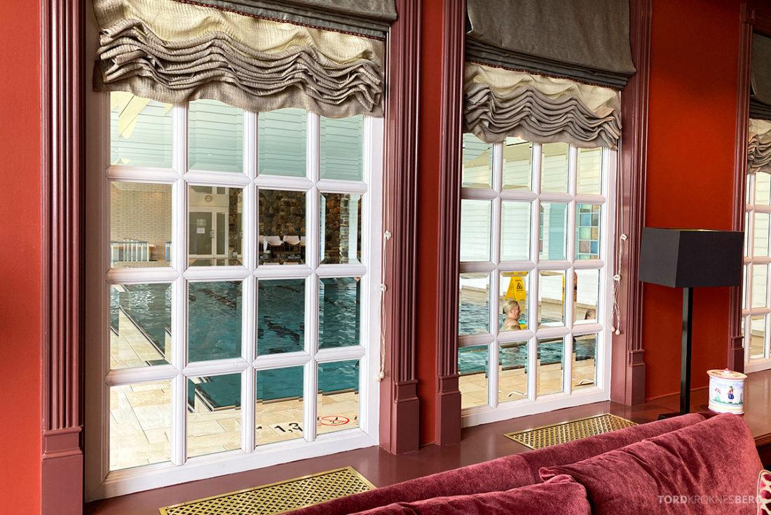 Hotel Ullensvang Hardanger Norge innendørs basseng