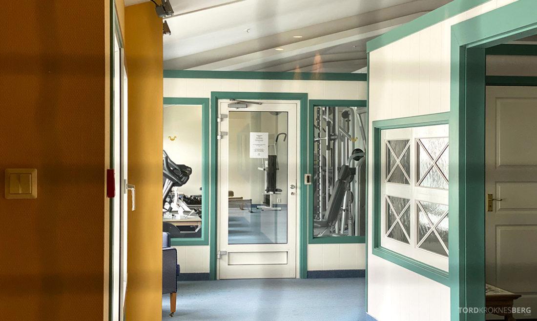 Hotel Ullensvang Hardanger Norge gym