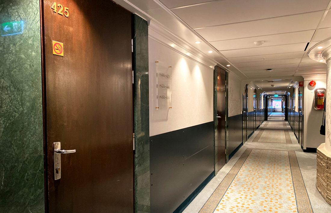 Hotel Ullensvang Hardanger Norge korridor