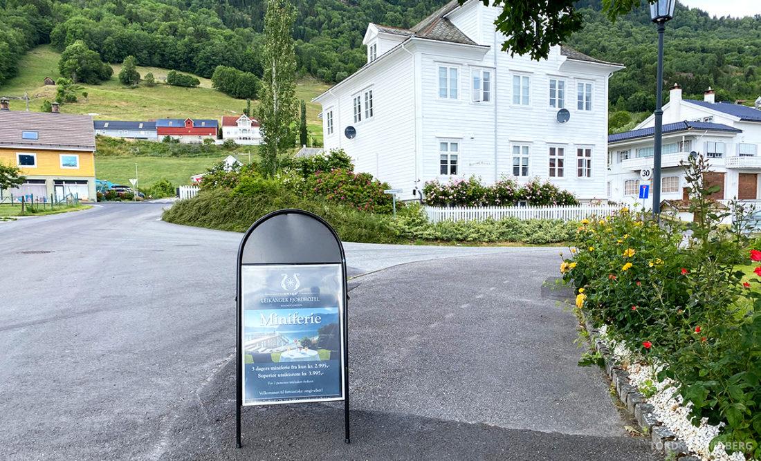 Leikanger Fjord Hotel miniferie