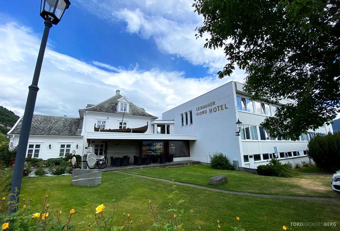 Leikanger Fjord Hotel fasade