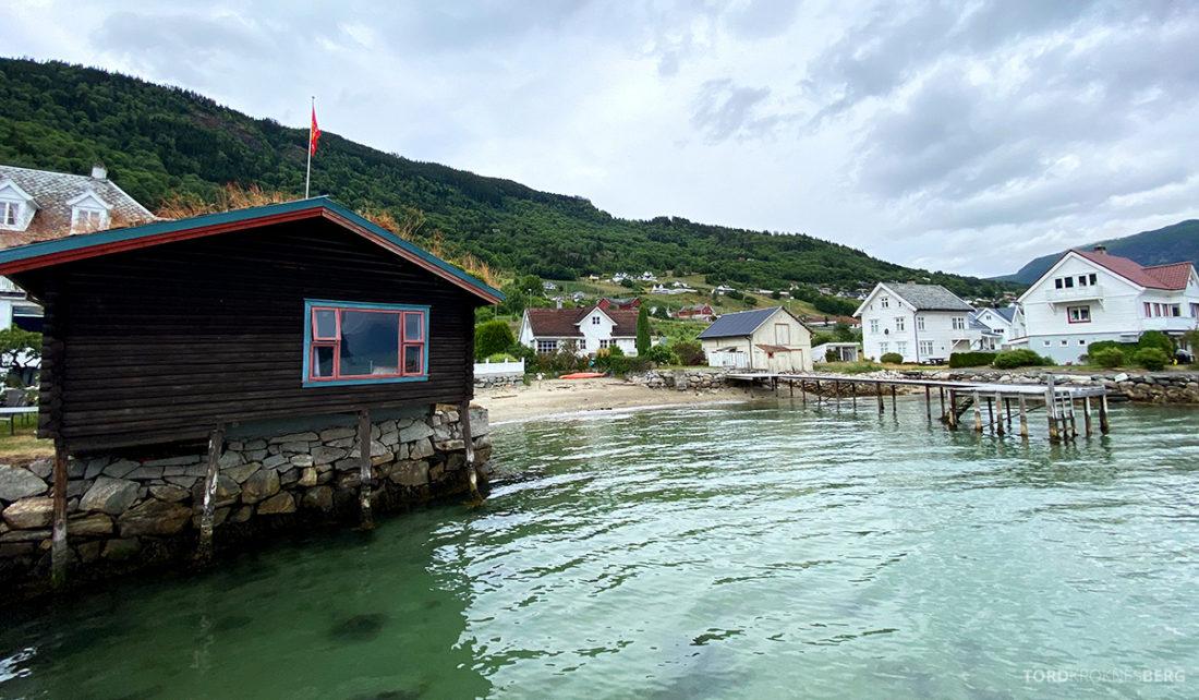 Leikanger Fjord Hotel naust strand