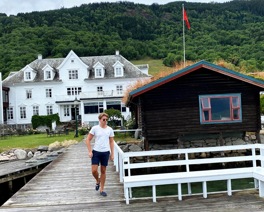 Leikanger Fjord Hotel Tord Kroknes Berg have