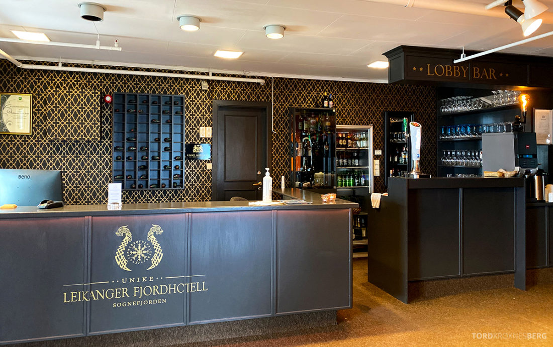 Leikanger Fjord Hotel resepsjon