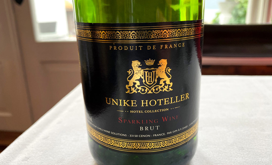 Leikanger Fjord Hotel champagne