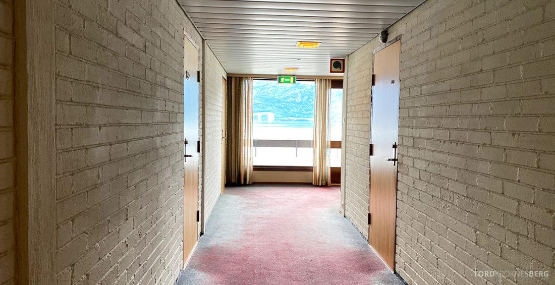 Leikanger Fjord Hotel korridor