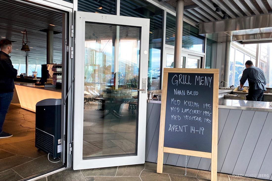 Loen Skylift Hoven Restaurant inngang