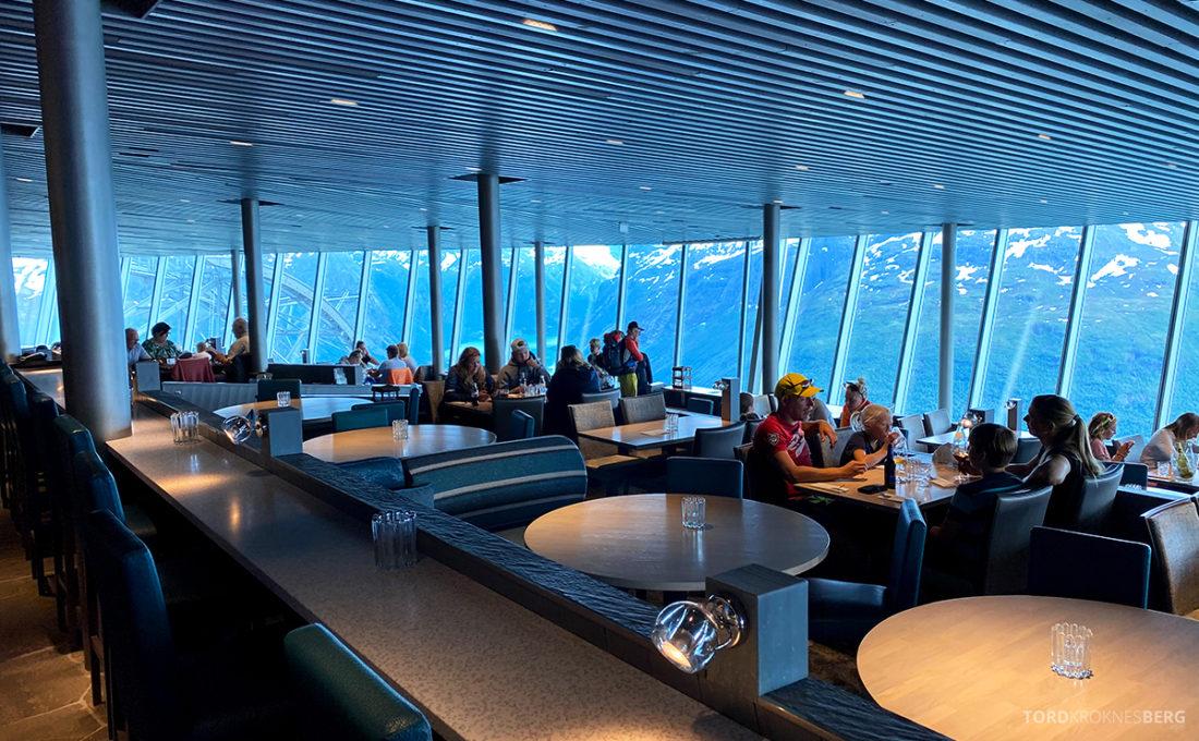 Loen Skylift Hoven Restaurant oversikt