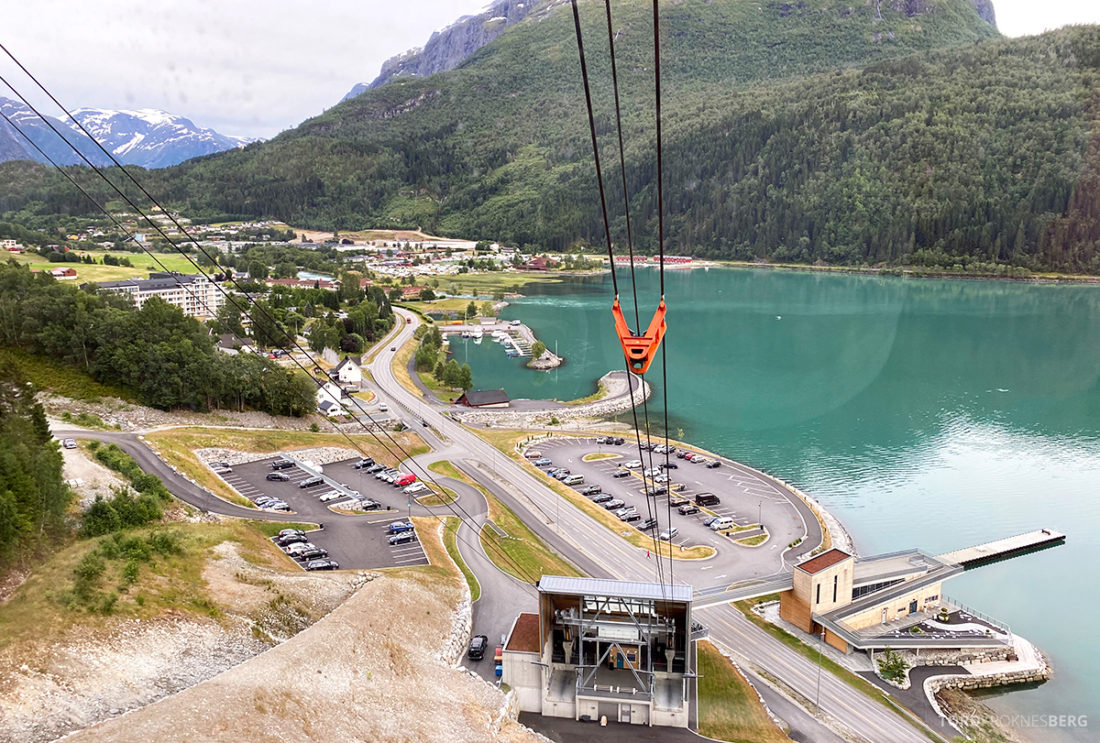 Loen Skylift Hoven Restaurant ned