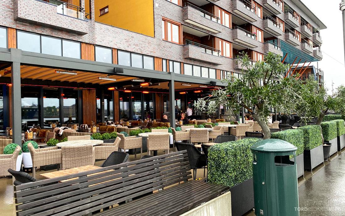 Mirabel Restaurant Sørenga Oslo uteservering