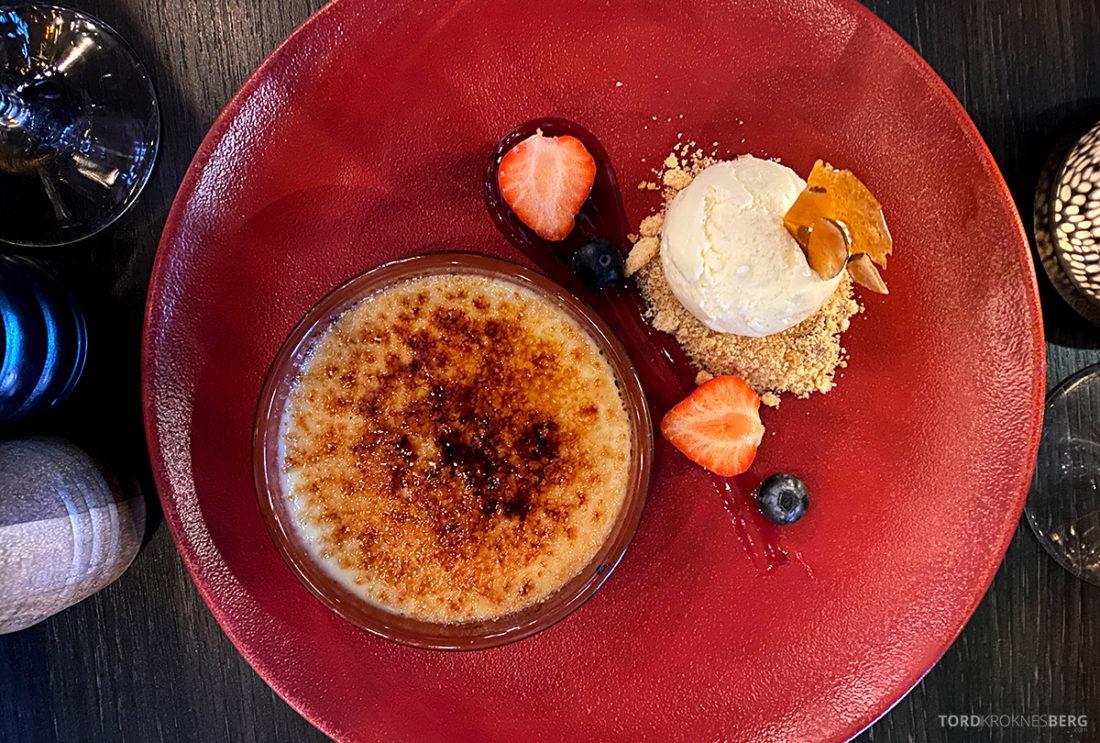 Mirabel Restaurant Sørenga Oslo Créme Brûlée