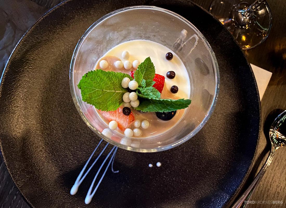 Mirabel Restaurant Sørenga Oslo sjokolademousse
