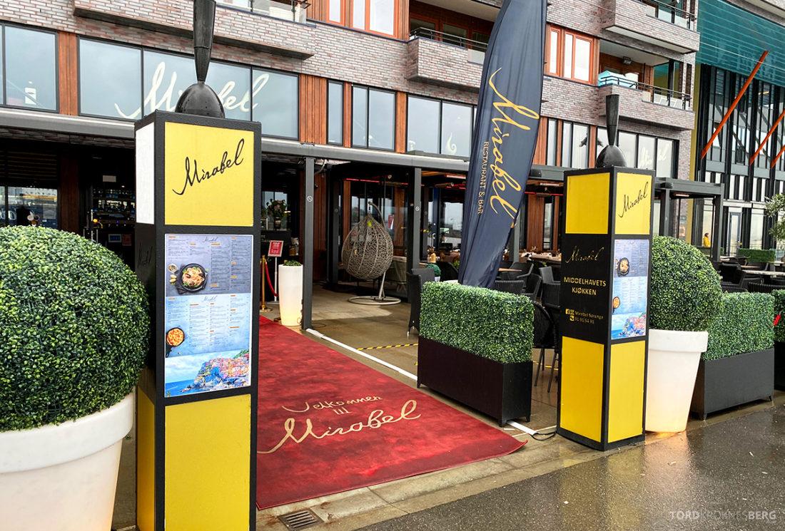 Mirabel Restaurant Sørenga Oslo inngang