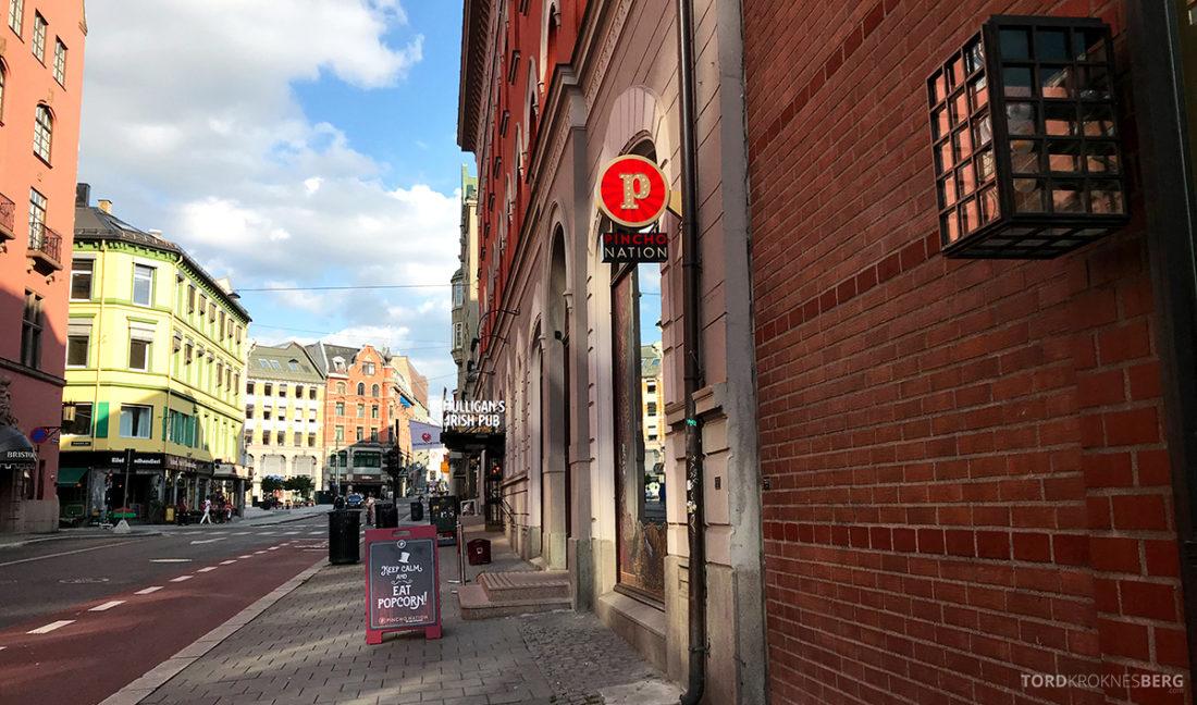 Pincho Nation Restaurant Oslo fasade