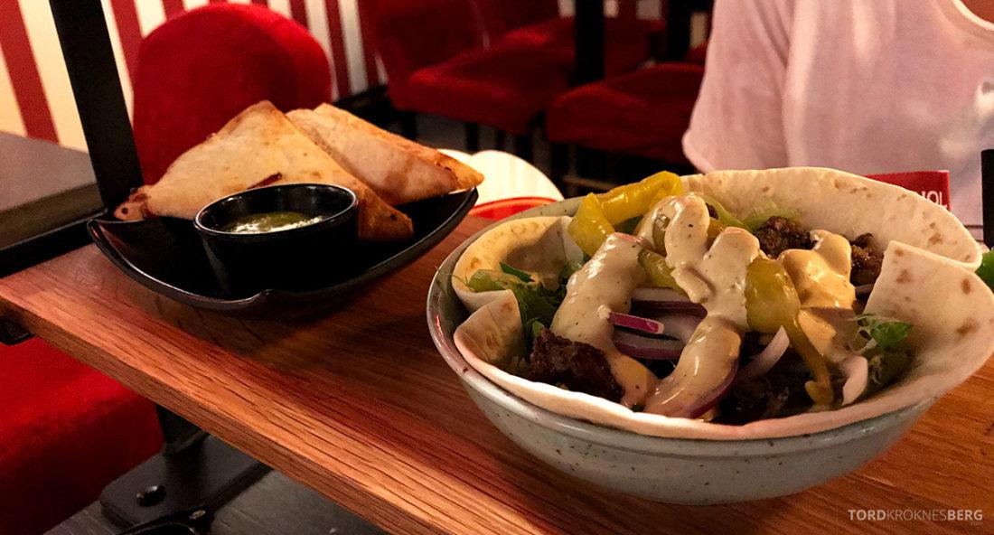 Pincho Nation Restaurant Oslo kebab