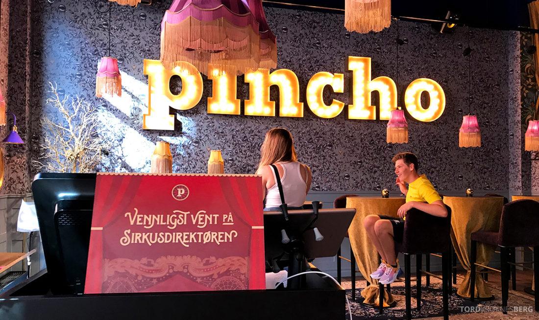Pincho Nation Restaurant Oslo velkomst