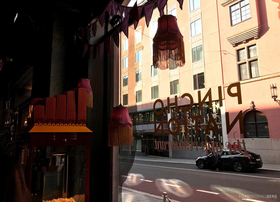 Pincho Nation Restaurant Oslo utsikt