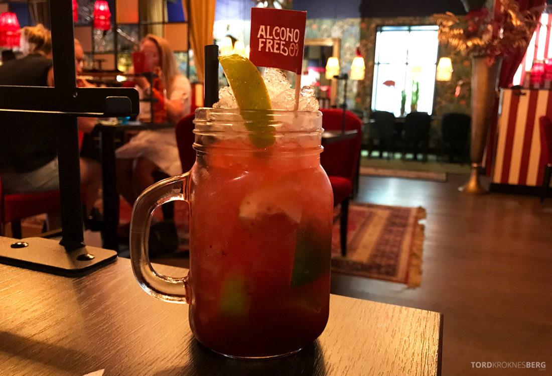 Pincho Nation Restaurant Oslo drink