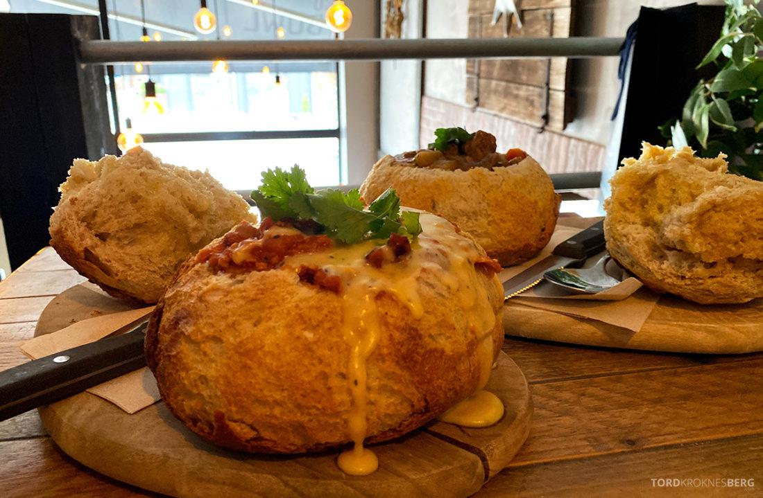 San Francisco Bread Bowl Restaurant Oslo mat