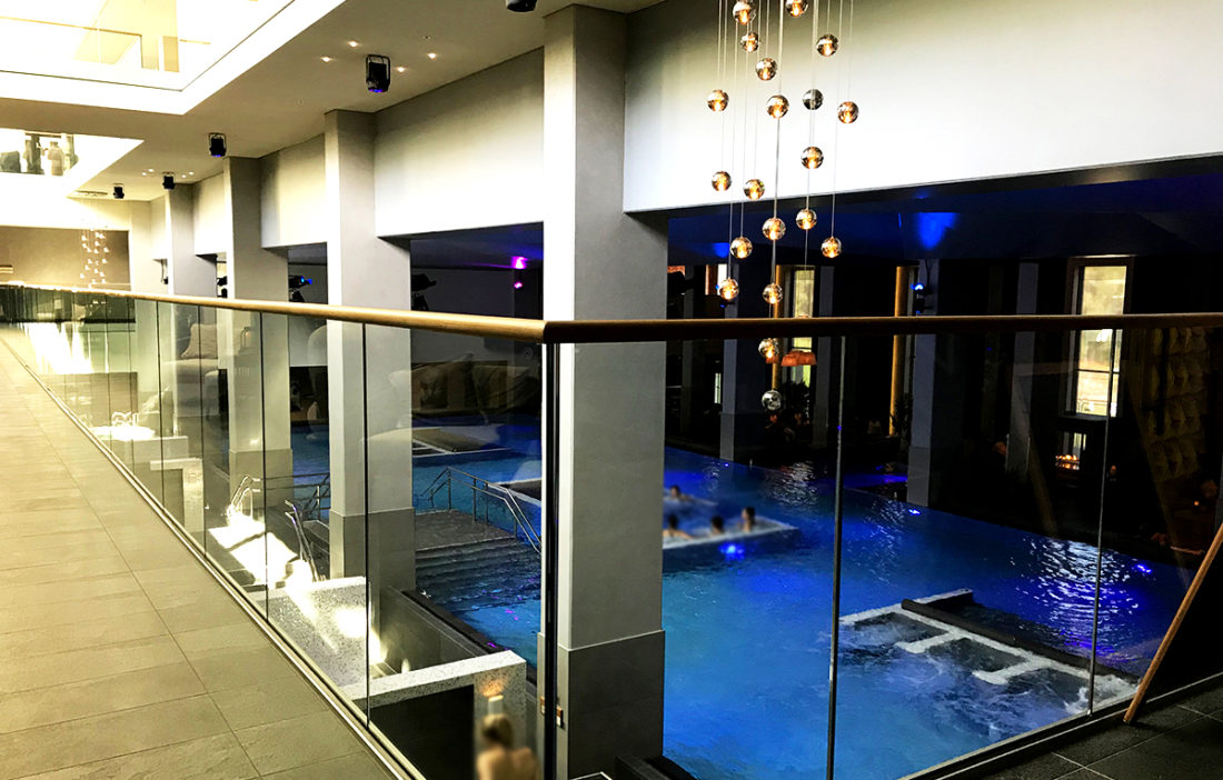 The Well Spa Oslo basseng inne