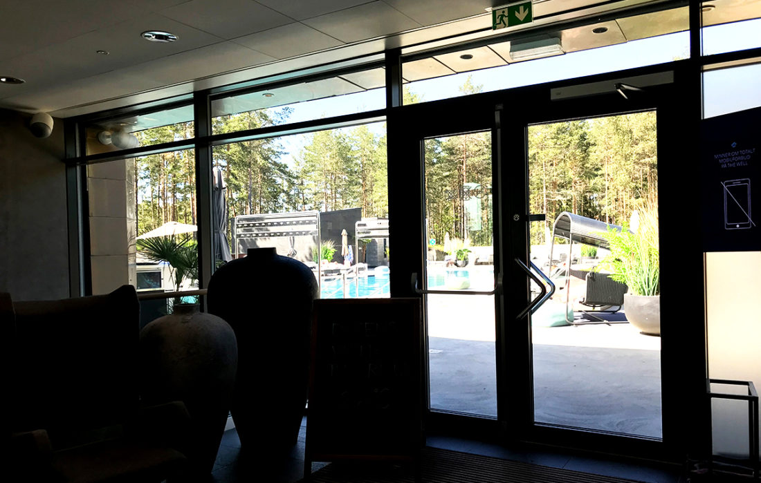 The Well Spa Oslo utendørs basseng