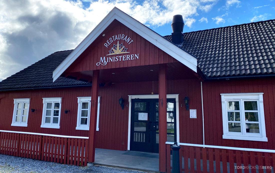 Bårdshaug Herregård Hotel Orkanger Ministeren inngang