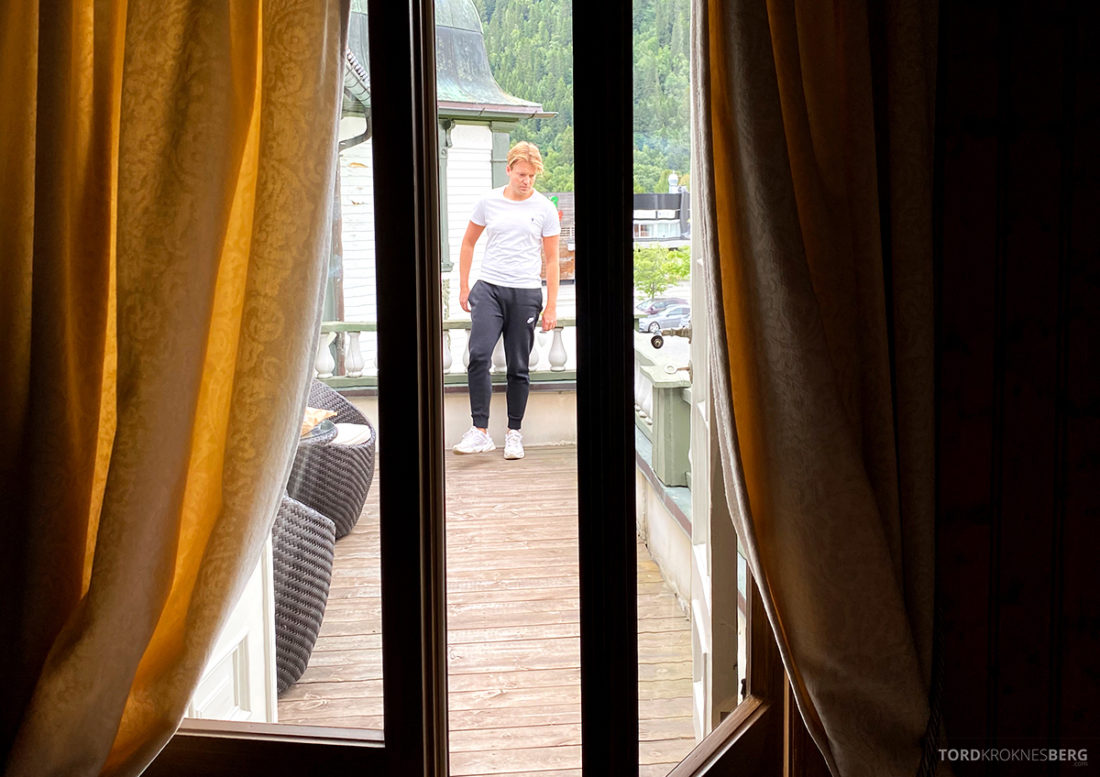 Bårdshaug Herregård Hotel Orkanger Tord Kroknes Berg balkong