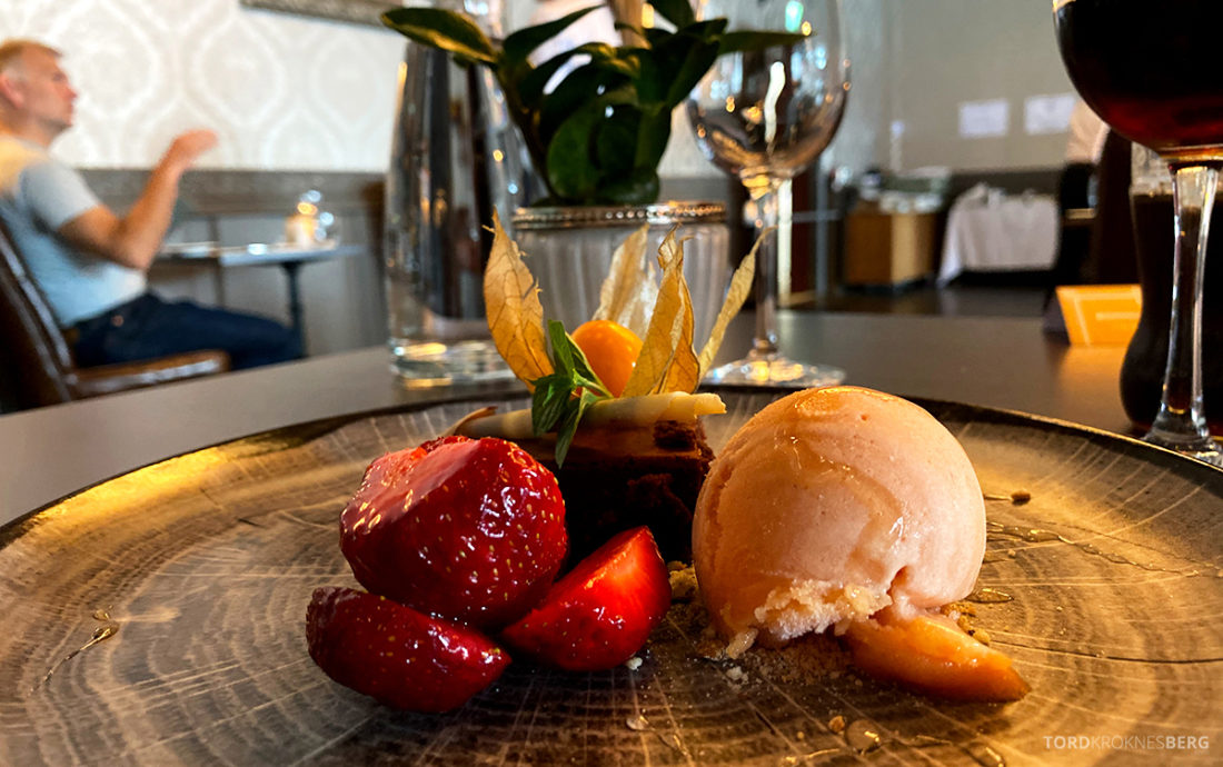 Bårdshaug Herregård Hotel Orkanger Ministeren dessert