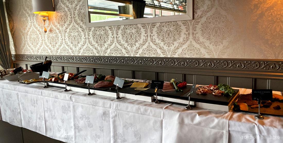 Bårdshaug Herregård Hotel Orkanger frokostbuffet