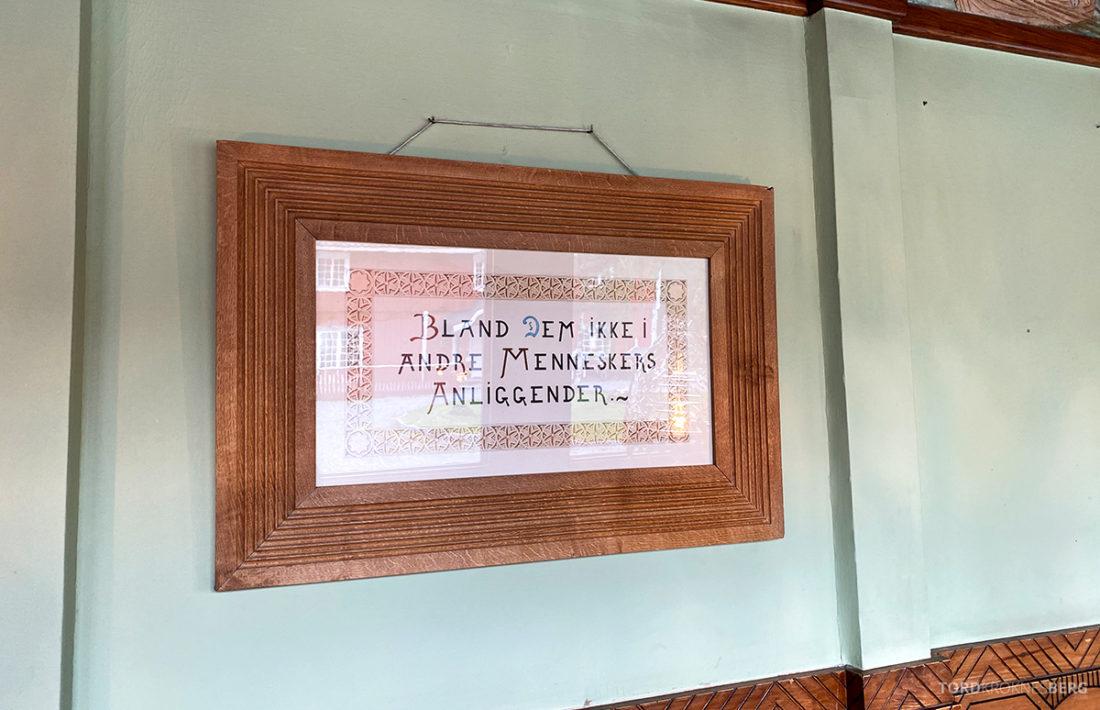 Bårdshaug Herregård Hotel Orkanger sitat