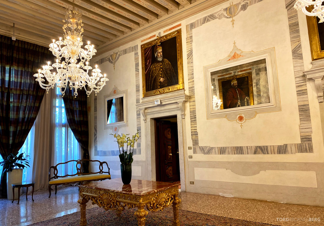 Grand Hotel Dei Dogi Venezia korridor historisk