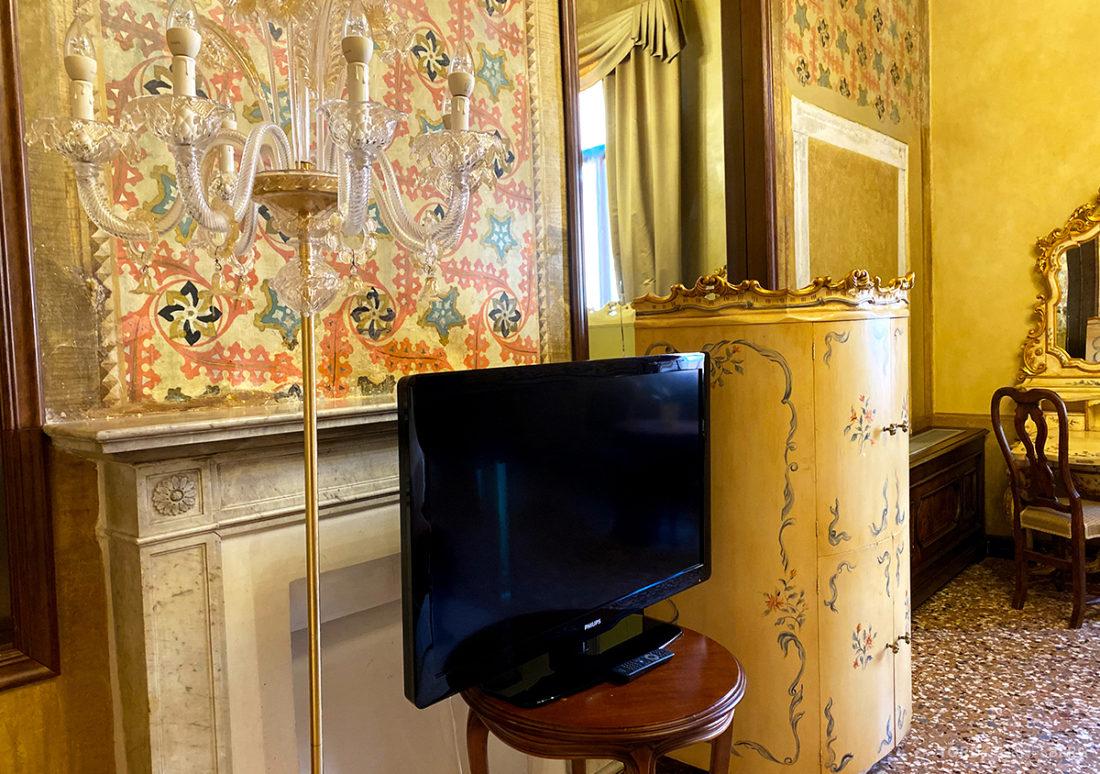 Grand Hotel Dei Dogi Venezia fjernsyn