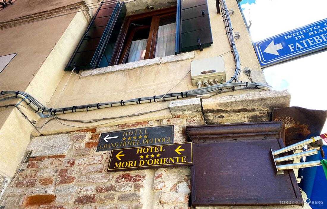 Grand Hotel Dei Dogi Venezia skilt