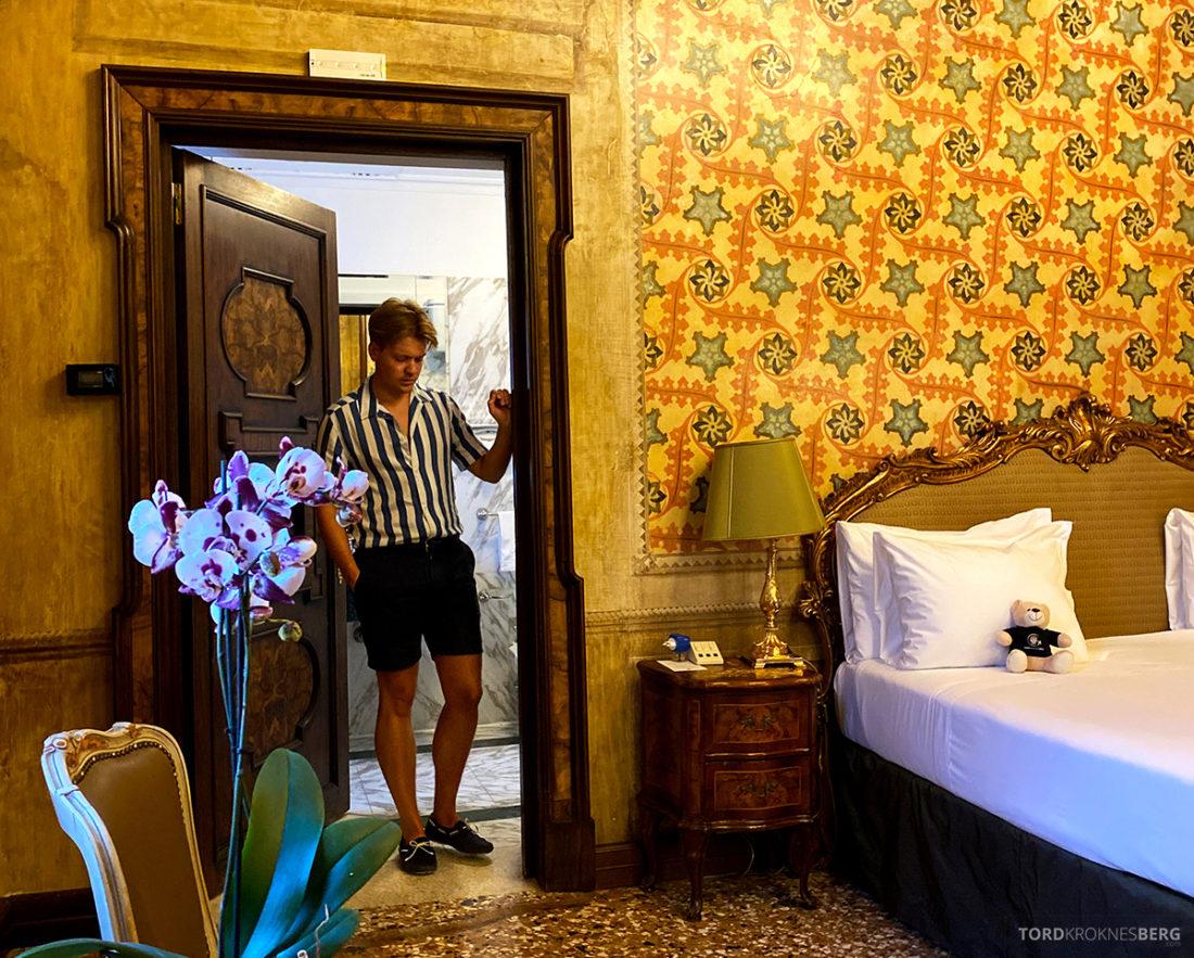 Grand Hotel Dei Dogi Venezia Tord Kroknes Berg værelse