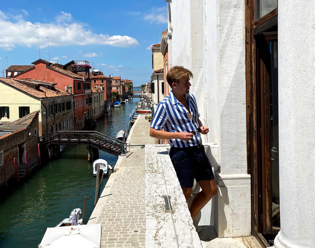 Grand Hotel Dei Dogi Venezia Tord Kroknes Berg balkong