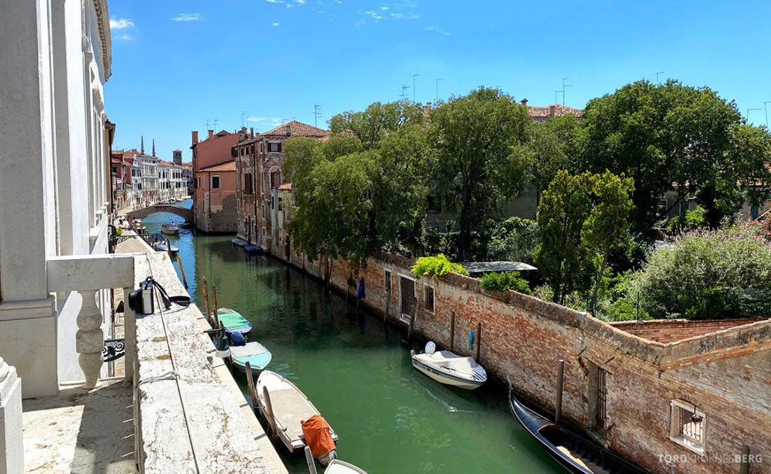 Grand Hotel Dei Dogi Venezia utsikt kanal