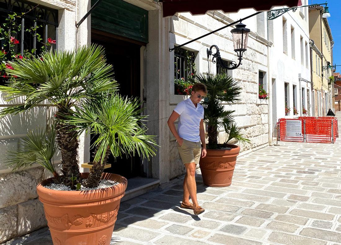 Grand Hotel Dei Dogi Venezia hovedinngang Tord Kroknes Berg