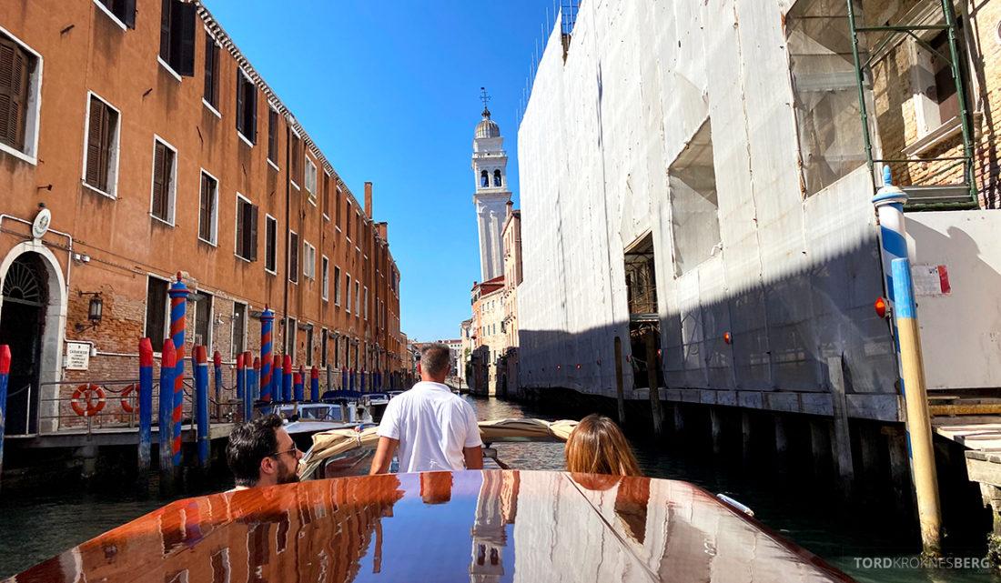 Grand Hotel Dei Dogi Venezia båt